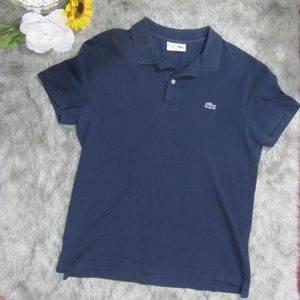 Lacoste Navy Blue Golf Shirt